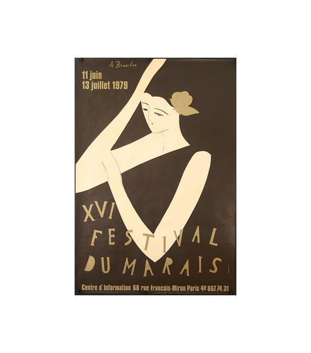 Chisholm Larsson Gallery XVI Festival du Marais 1979 Poster