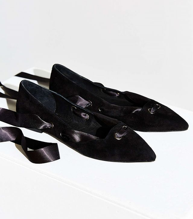 Jeffrey Campbell Susy Lace-Up Flats