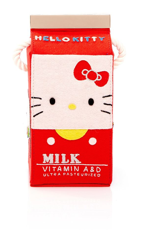Olympia Le-Tan Face Milk Box Handbag