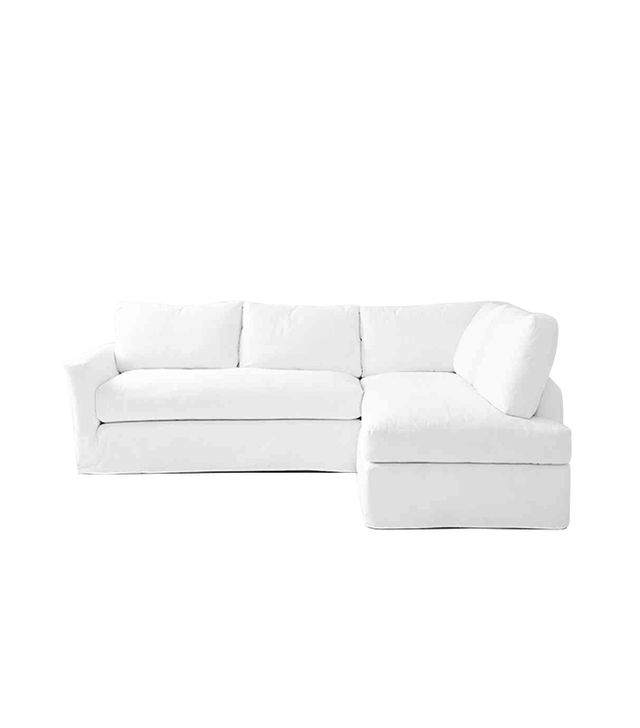 Shabby Chic Couture Slipcovered Sofa