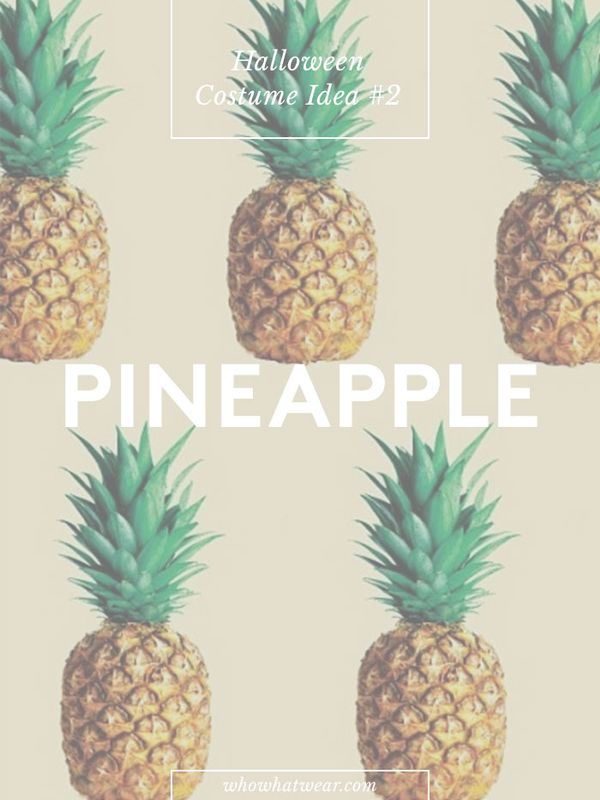Number of repins: 14.4K Learn how to create a pineapple costume.