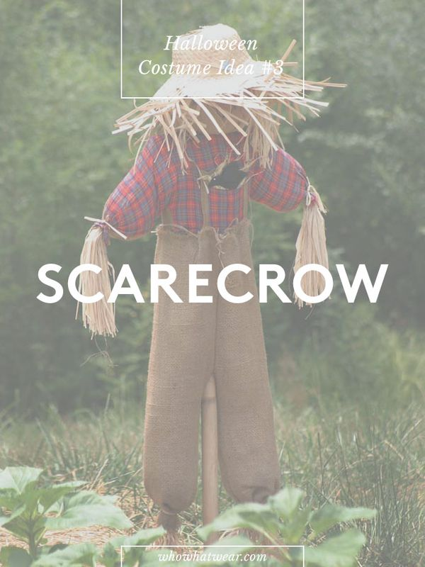 Number of repins: 87.4K Learn how to create a scarecrow costume.