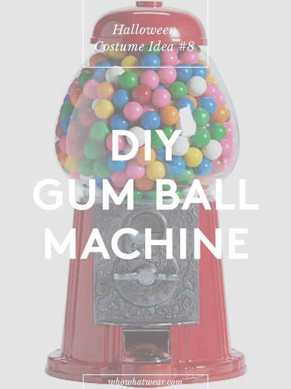 Number of repins: 76.5K Learn how to create a gumball machine costume.