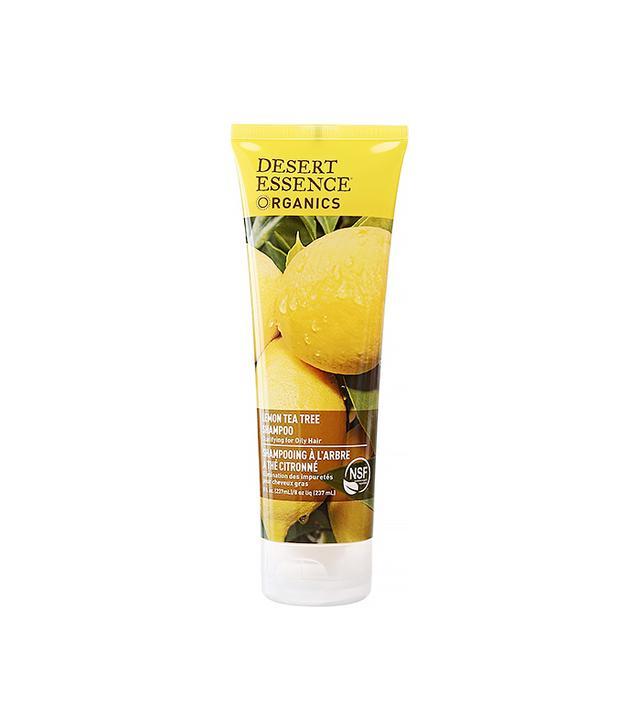 Desert Organics Lemon Tea Tree Hair Care Shampoo for Oily Hair
