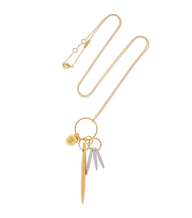 Chloé Gold-Tone Pendant Necklace