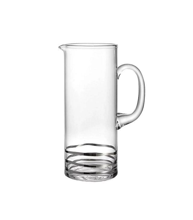 Jay Import Cocktails Wave Platinum Pitcher