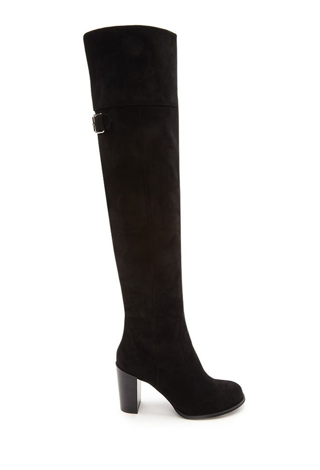 Forever 21 Over-the-Knee Faux Suede Boots