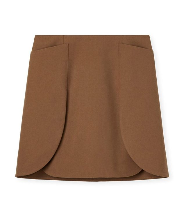 Tory Burch Tory Burch Wool Flannel Skirt