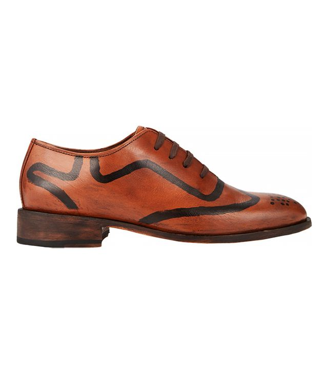 Esquivel Hand-Painted Oxfords