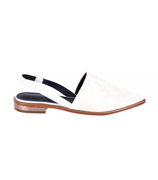 Tibi Weston Slingback Loafers