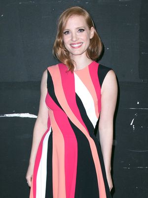 Jessica Chastain Looks Totally Unrecognizable on the Cover of W