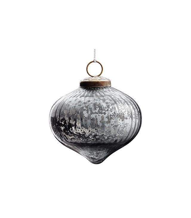 Restoration Hardware Vintage Handblown Glass Ornament Onion