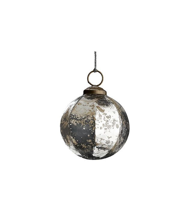 Restoration Hardware Vintage Handblown Faceted Ball Ornament