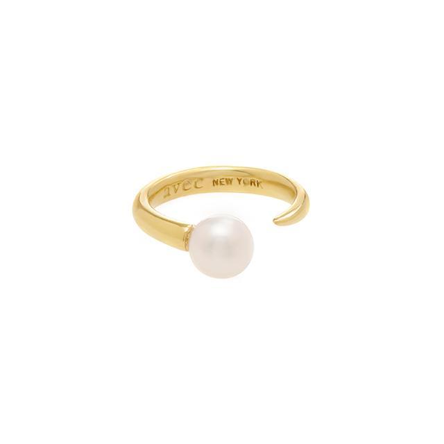 Avec New York Gold Horn Knuckle Ring