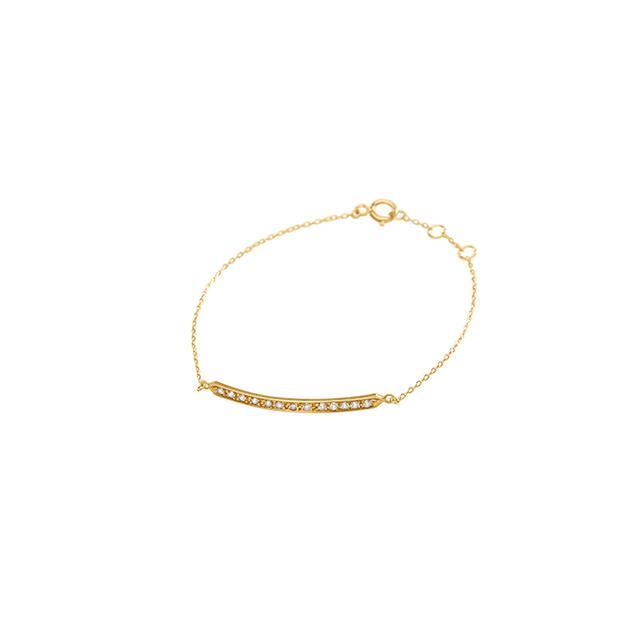 Halleh Jewelry Diamond Bar Bracelet
