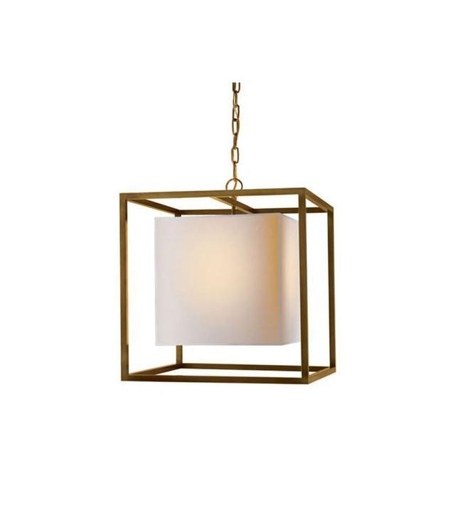 Visual Comfort Studio 1 Light Medium Caged Ceiling Pendants