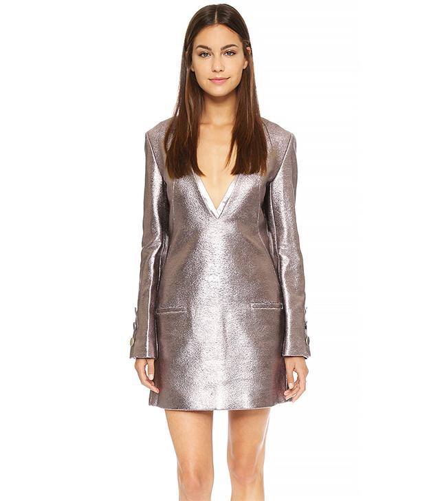 Misha Nonoo Valerie Metallic Dress