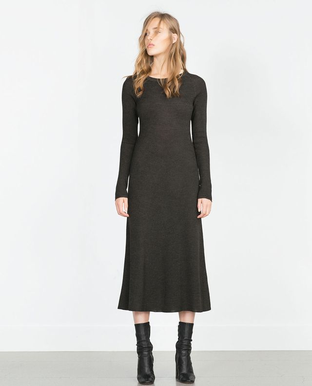 Zara Tailored Knit Dress