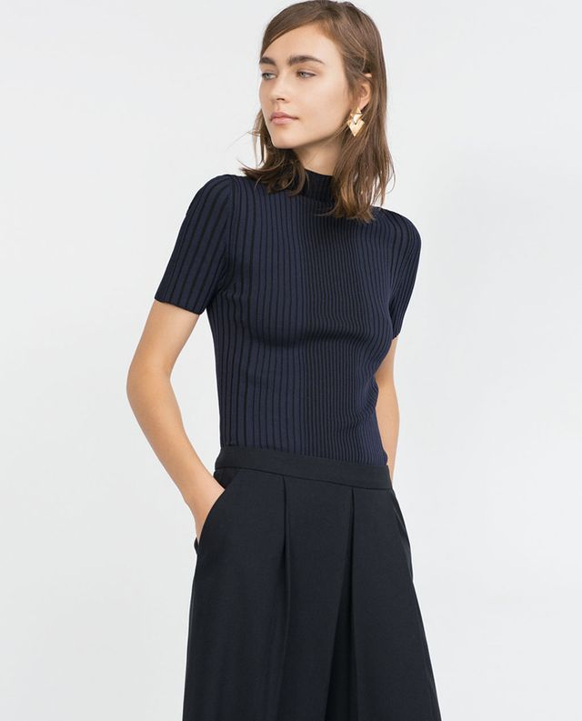 Zara Short Sleeve Sweater