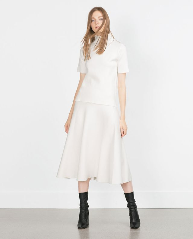 Zara Long Full Skirt