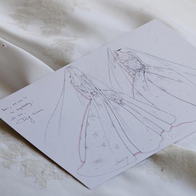This Stunning Dior Wedding Dress Took 5 Months to Make