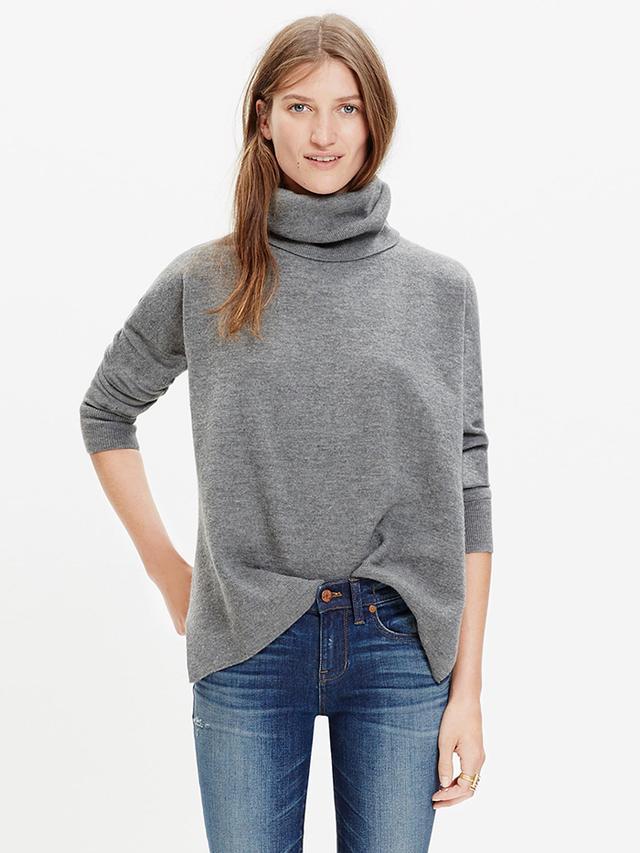 Madewell Merino Turtleneck Sweater