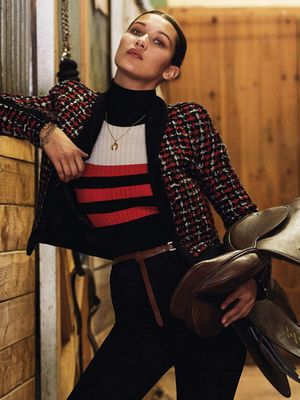 How to Get a Bella Hadid–Inspired Equestrian Look