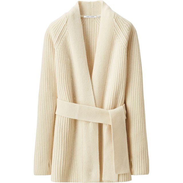 Uniqlo x Lemaire Lamb's Wool Long Cardigan