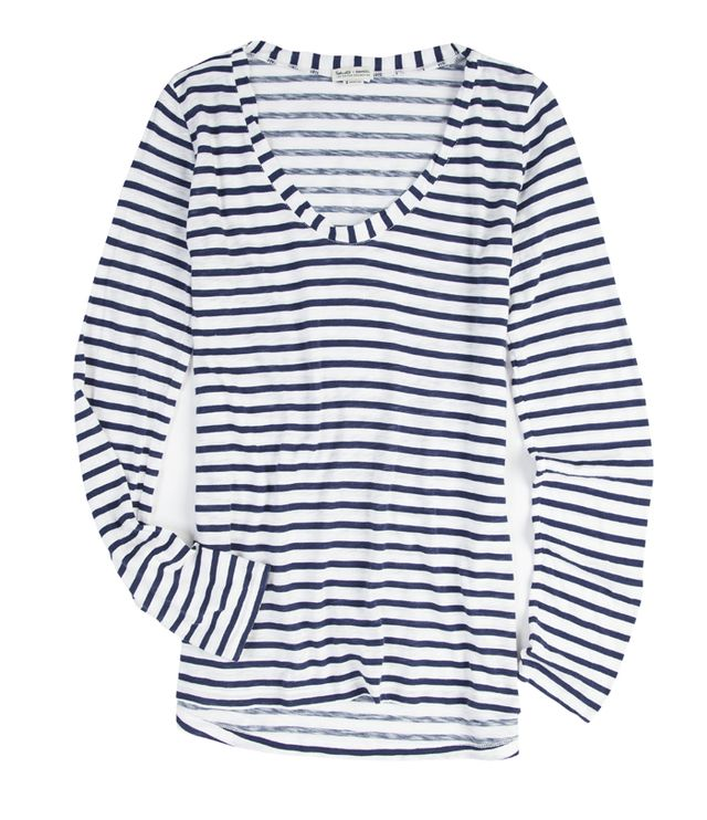 Splendid x Damsel Striped Cotton Shirt