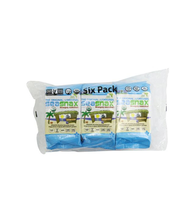SeaSnax Roasted Seaweed Grab and Go Pack of 12