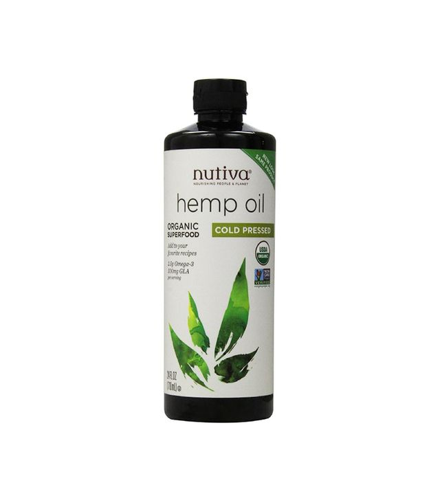 Nutiva Certified Organic Cold Pressed Hemp Oil