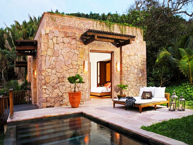 A private little stone cottage is just what you need on a romantic getaway.  Imanta Resort Punta de Mita|Monte Nahuac Lote L, Higuera Blanca