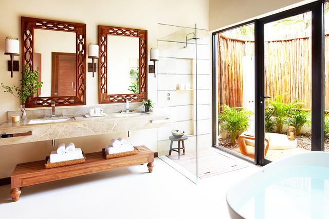 That outdoor shower has your name on it.  Viceroy Zihuatanejo |Playa la Ropa S/N, Playa la Ropa, Zihuatanejo