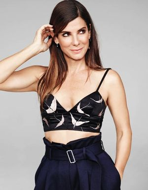 Must-See: Sandra Bullock's Stunning Spread for Glamour Magazine