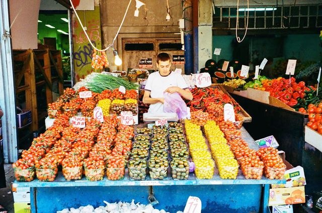 Carmel Market Location: Tel Aviv, Israel Since Tel Aviv is a walking city, almost every week I would grab my grandmotherly basket on wheels and march down to this incredible place. Imagine a...