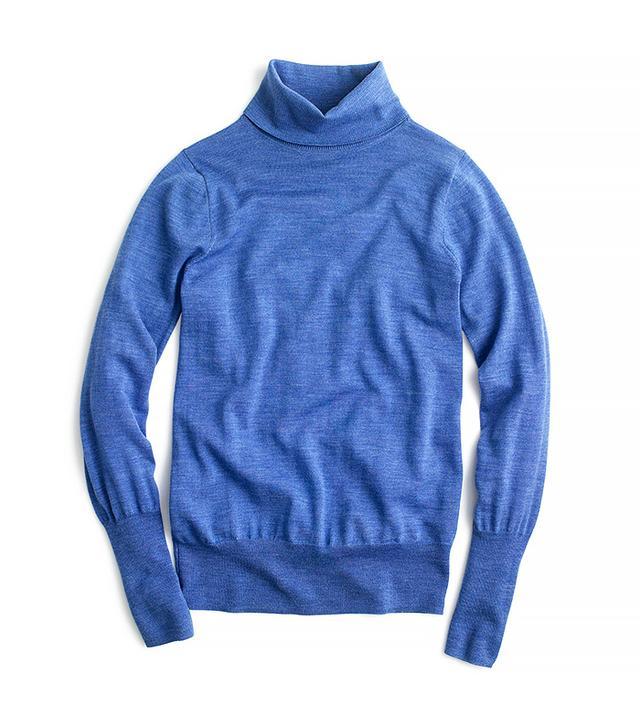 J.Crew Classic Wool Turtleneck Sweater