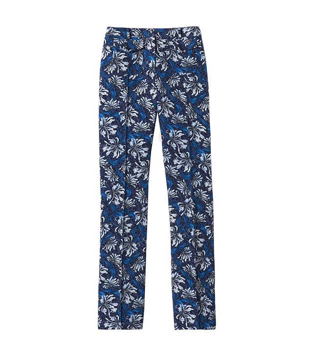 Rebecca Taylor Mystic Garden Slim Boot Cut Pants