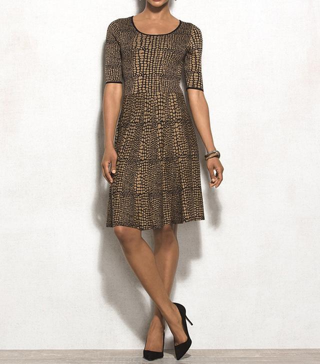 Luxe by Carmen Marc Valvo Sweater Dress