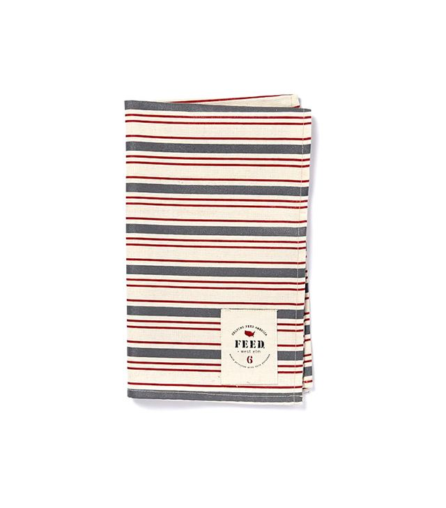 FEED for West Elm Stripes Kitchen Towel