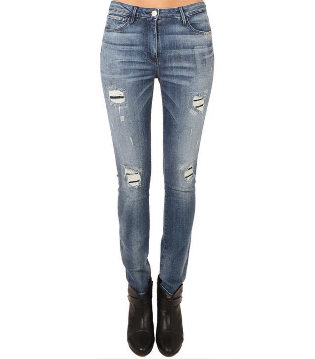 3x1 W3 Highrise Skinny Jeans