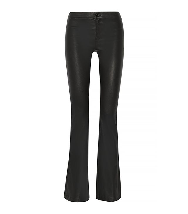 J.Brand Vivia High-Rise Stretch Leather Pants