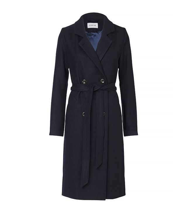 Ganni Malin Wool Coat