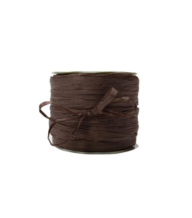 May Arts Ribbon Brown Paper Raffia