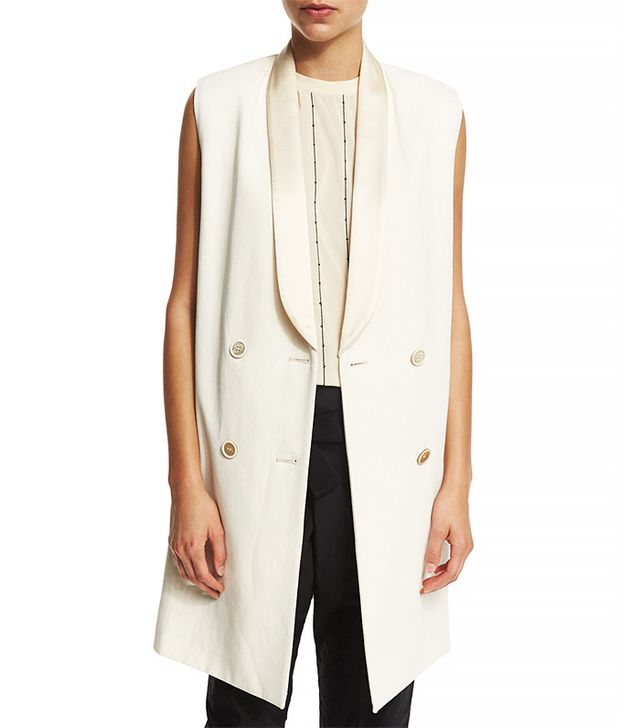 Brunello Cucinelli Double-Breasted Long Vest