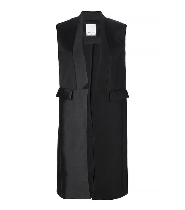 C/MEO Collective Narrow Lapel Long Gilet