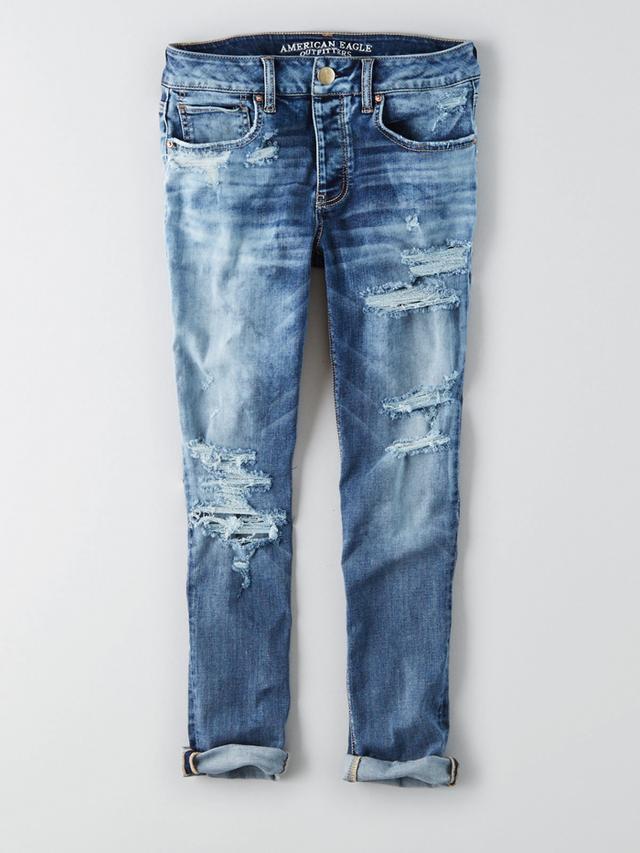 American Eagle Café Tomgirl Jeans