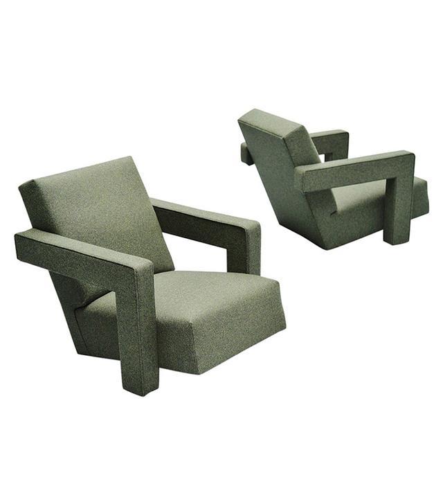 Metz & Co. Gerrit Thomas Rietveld Utrecht Chairs