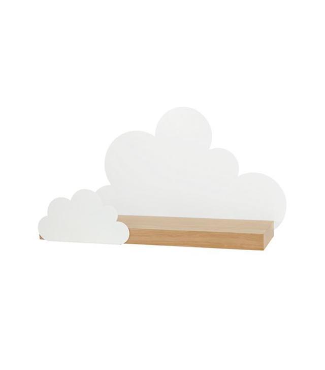 Land of Nod Overcast Wall Shelf