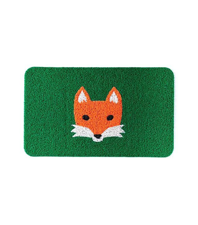 West Elm Fox Floor Mat