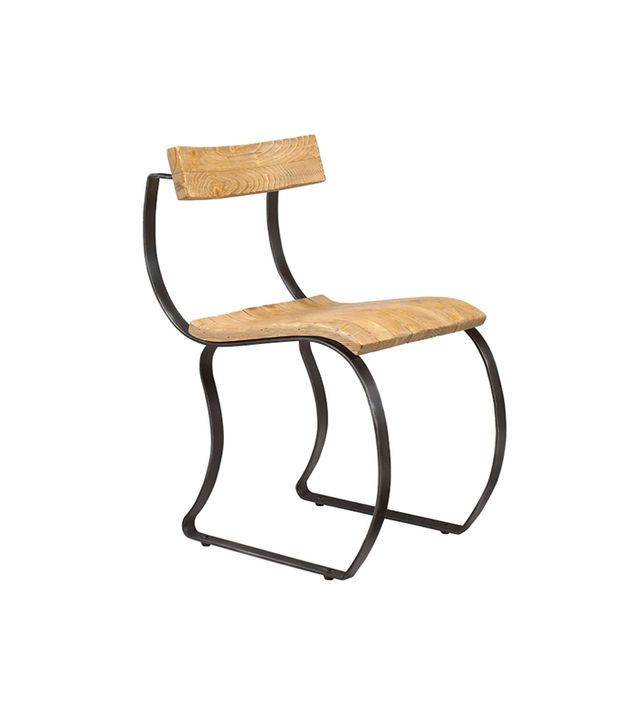 French Heritage Emeric Curved Side Chair